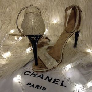CHANEL Shoes - CHANEL - ankle stap heels